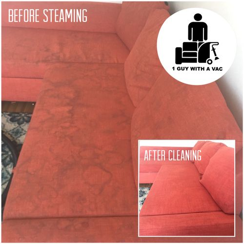 Before and After (NYC Steam Cleaning Service by 1 Guy With A Vac) Only the best!