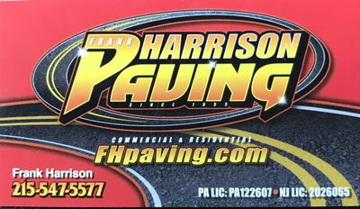 Avatar for Frank Harrison Paving Fairless Hills, PA Thumbtack