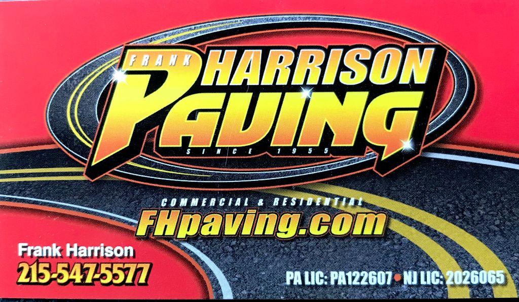Frank Harrison Paving