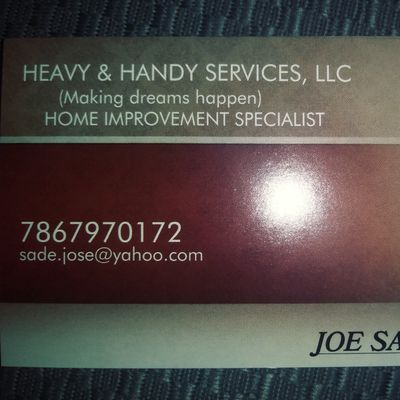 Heavy Handy Service And Repairs Llc Jacksonville Fl