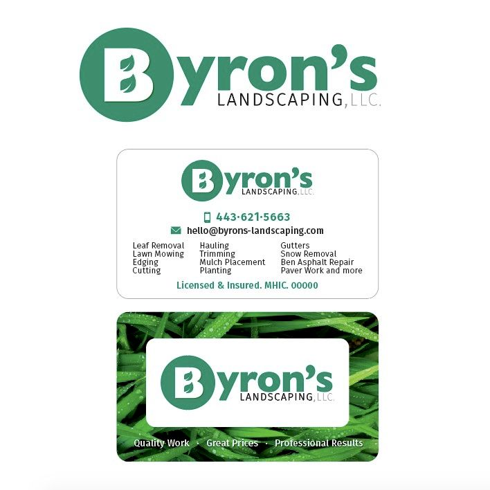 Byron's Landscaping, LLC