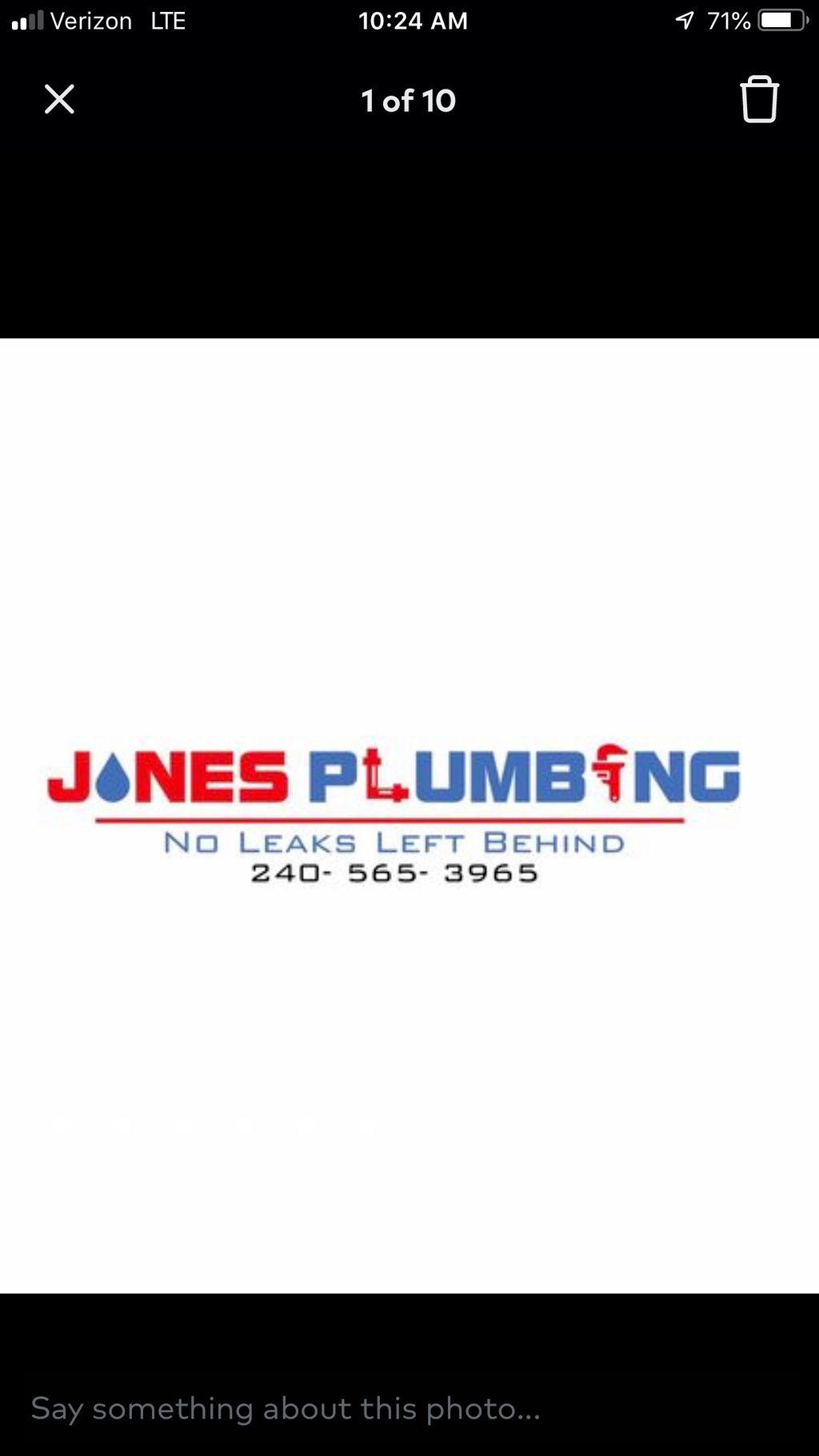 Jones Plumbing