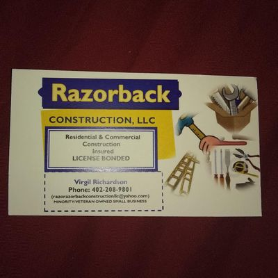 Avatar for Razorback Construction LLC Omaha, NE Thumbtack