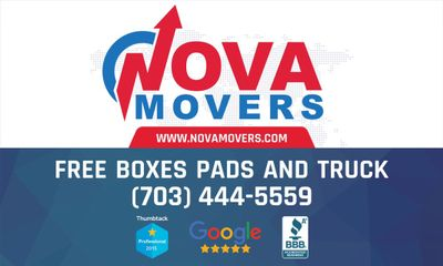 Avatar for NovaMovers.com  $69 per hour winter special Ashburn, VA Thumbtack