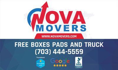 NovaMovers.com  $69 per hour winter special Ashburn, VA Thumbtack