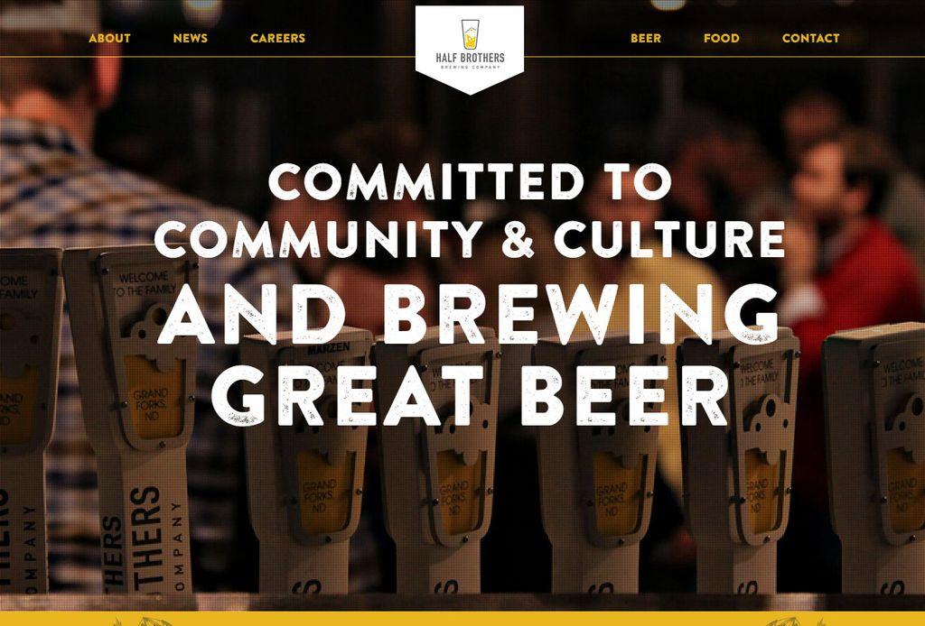 Half Brothers Brewing Website