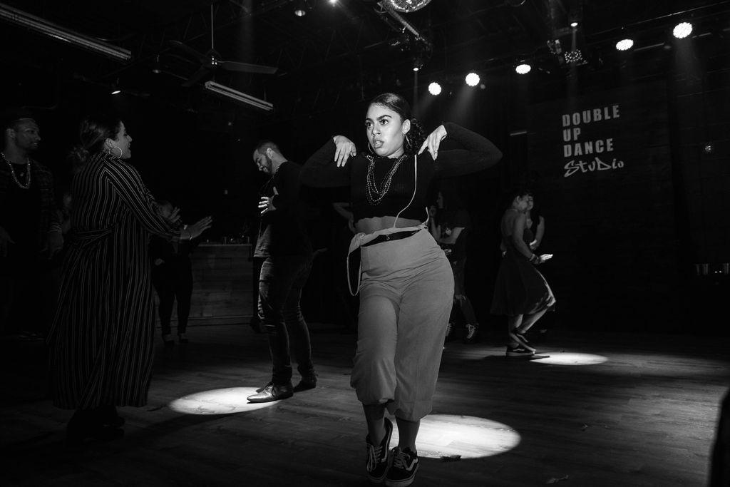 Duoble up dance studio adults night