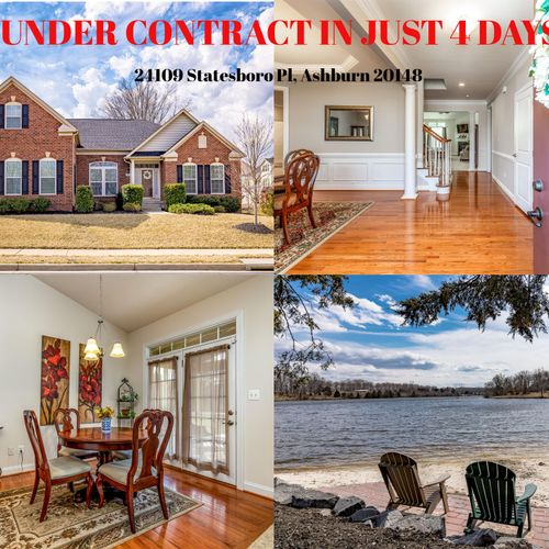 Under Contract in Just 4 days