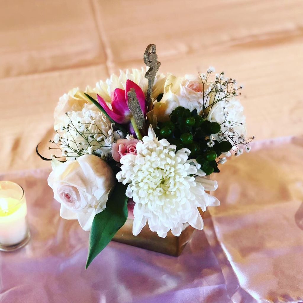 Baby Shower Florals and Centerpieces