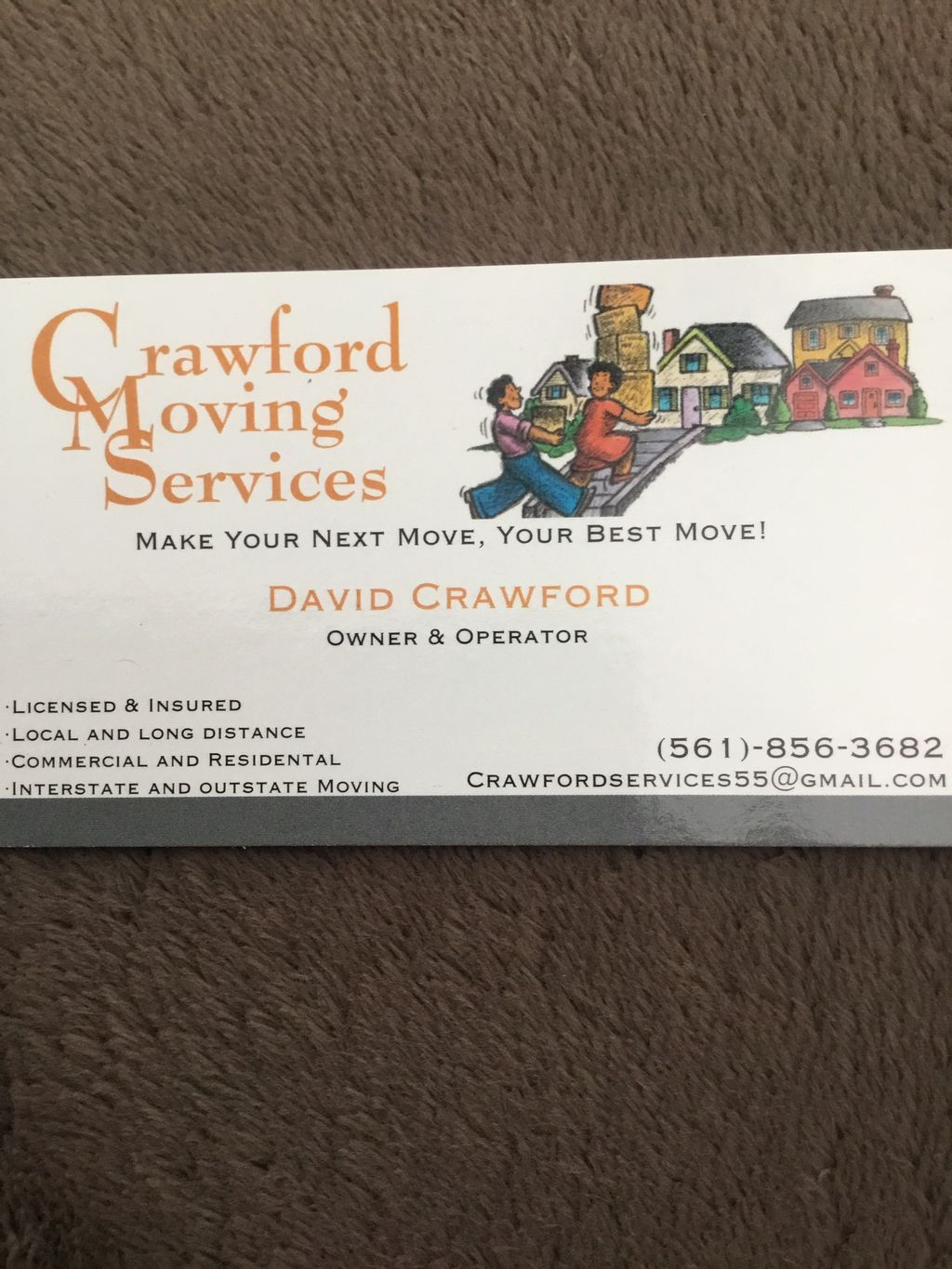 Crawford Moving Services