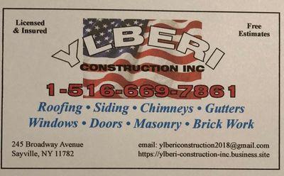 Avatar for Ylberi Construction inc Hauppauge, NY Thumbtack