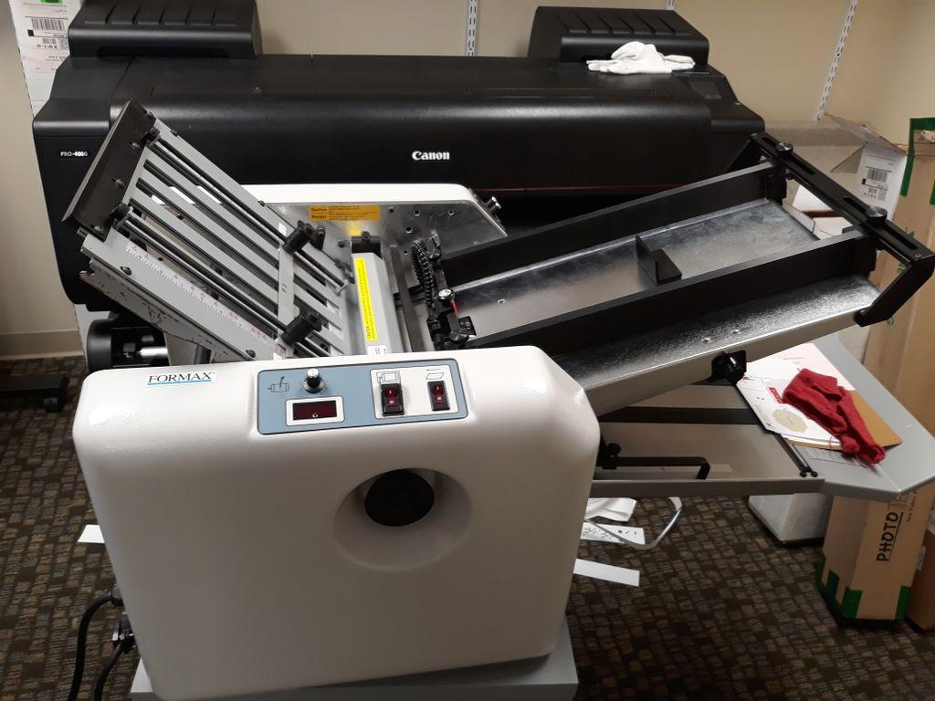 Paper folding and shredding