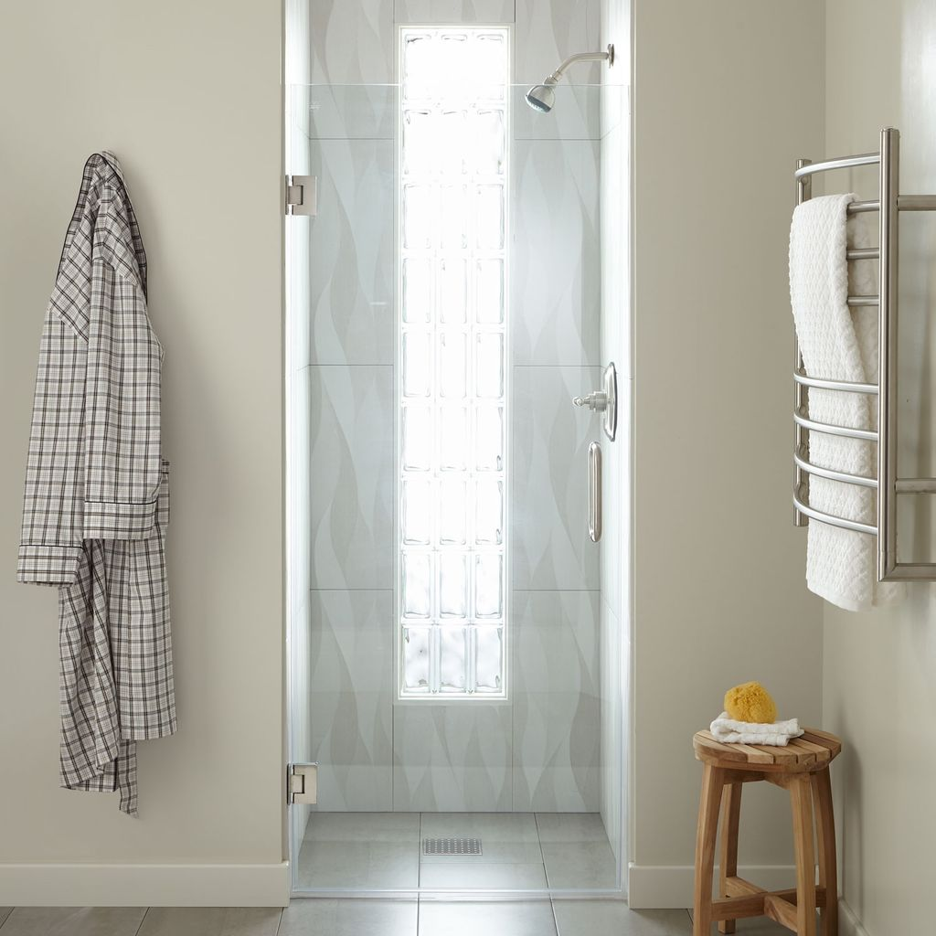 Single Glass Shower Door