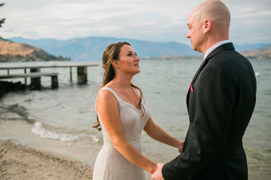 Elopement by the Lake