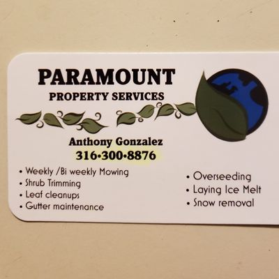Avatar for Paramount Property Services