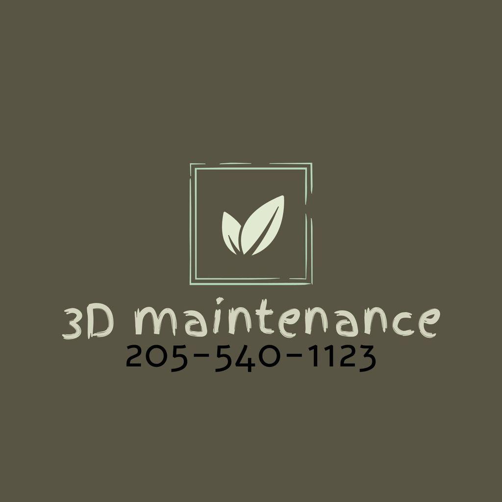 3D maintenance