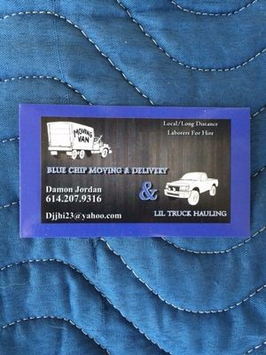 Avatar for Lil truck hauling-blue chip moving Hilliard, OH Thumbtack