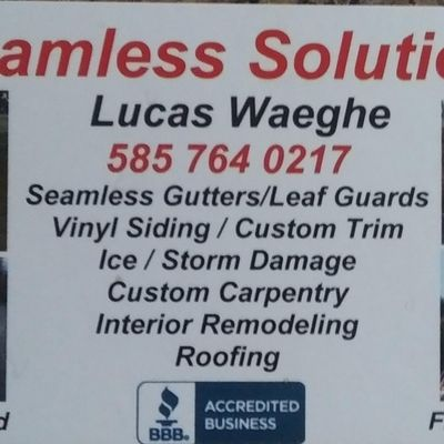 Avatar for Seamless Solutions General Contracting Marion, NY Thumbtack