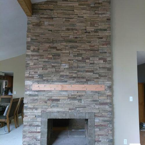 Culture Interior Fireplace Project
