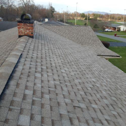 lifetime shingle roof