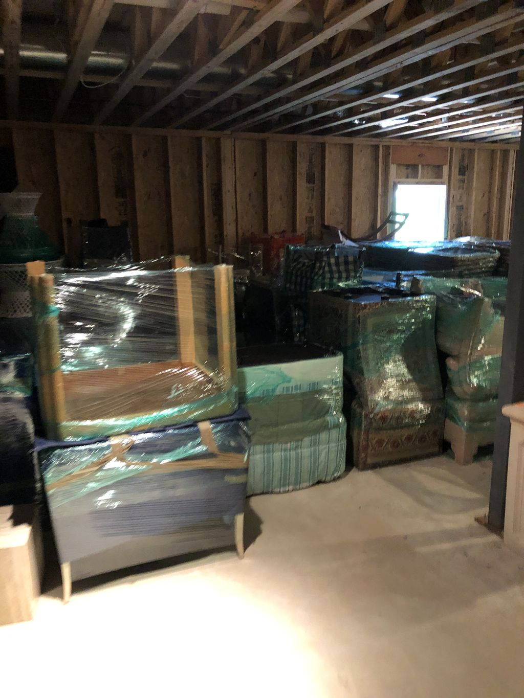 Storage Wrapping and Consolidation