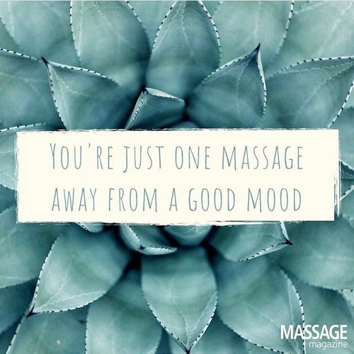 It is always a good idea to get a massage for health reasons and mood boost ! ❤️🙌🏼