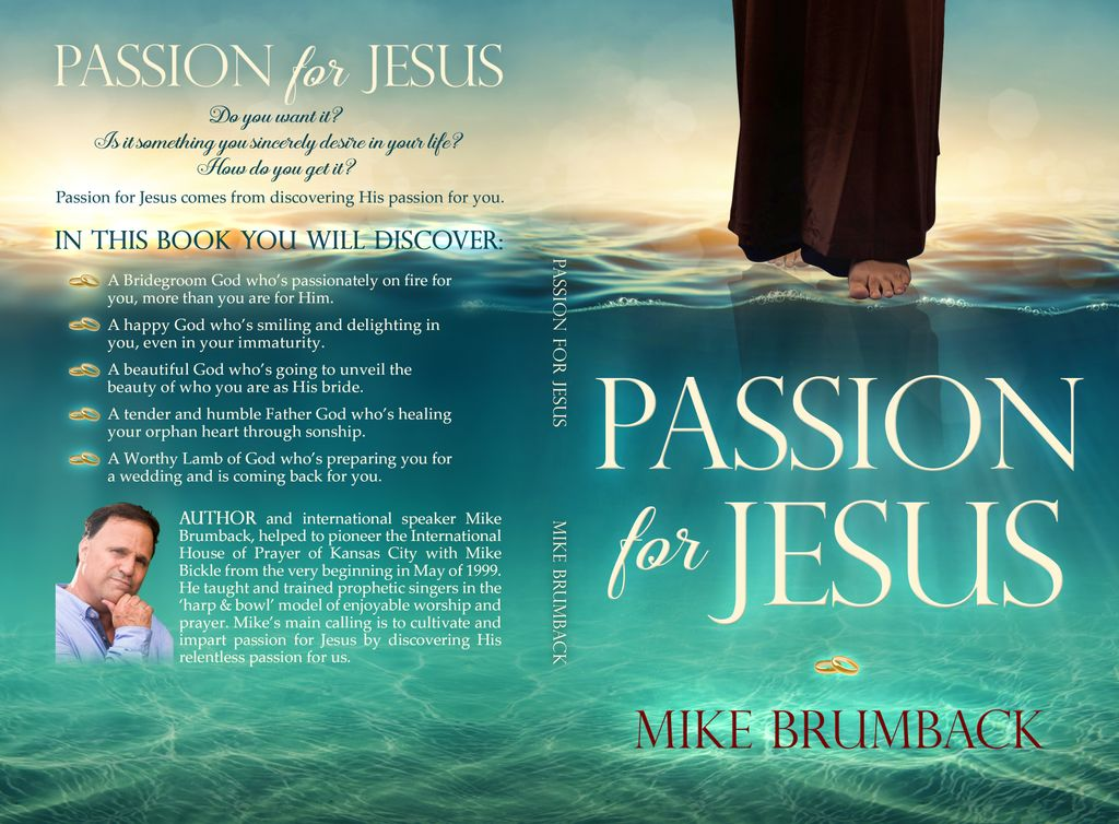 Passion for Jesus Book Cover Design, Editing and Interior Layout