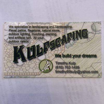 Avatar for Kulpscaping LLC