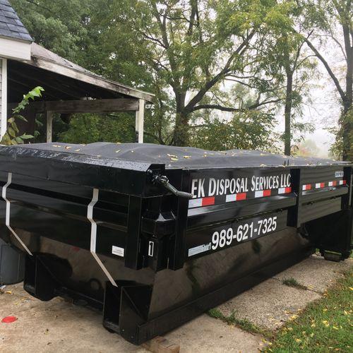 12.5 Yard Dumpster