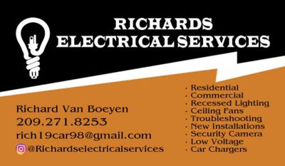 Avatar for Richard's Electrical Services Stockton, CA Thumbtack