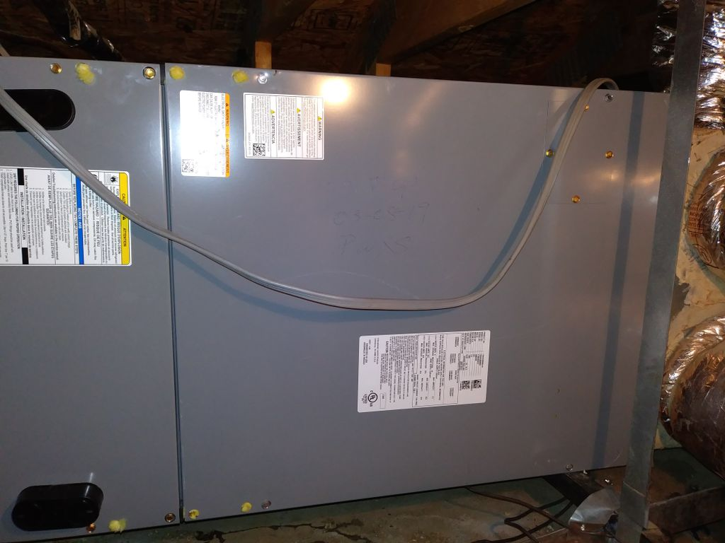 AIR CONDITIONOR CHANGE OUT