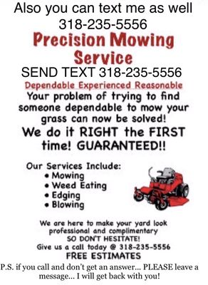 Avatar for Precision Mowing & Maintenance Services