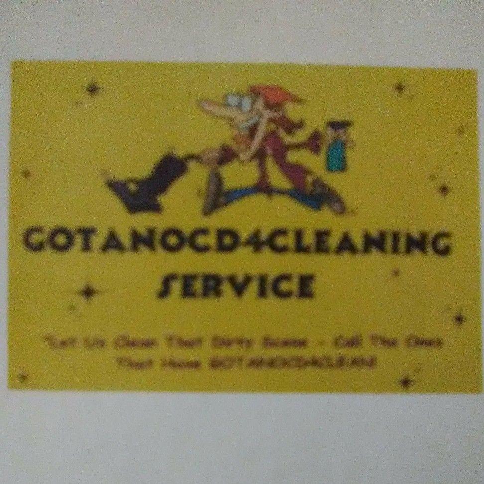 GOT AN OCD 4 CLEANING SERVICE