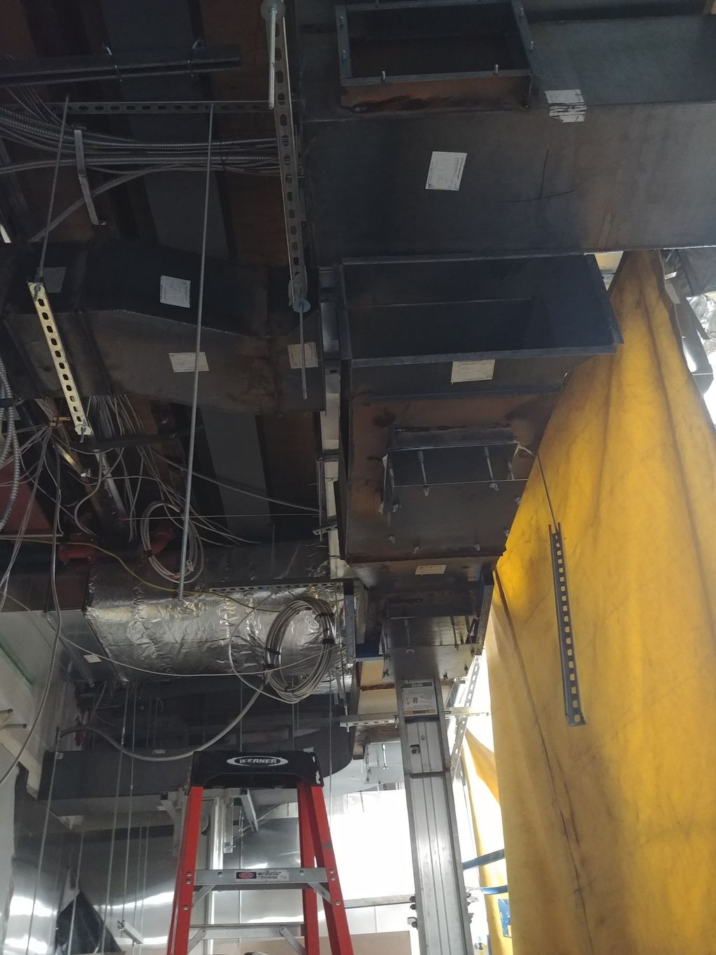 Grease Duct Seal Welding
