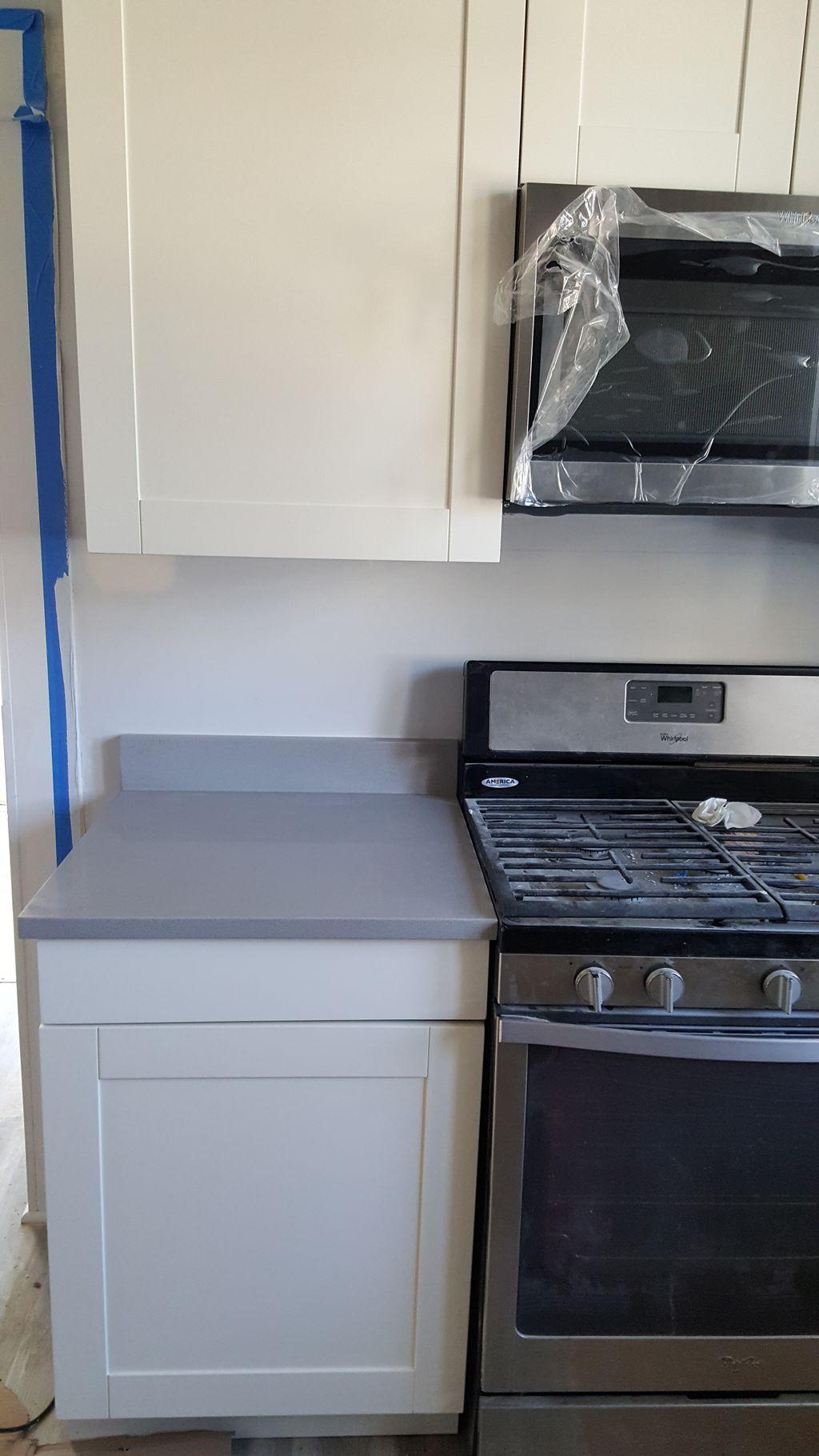 Kitchen remodel - Gut job Cabinets Floors