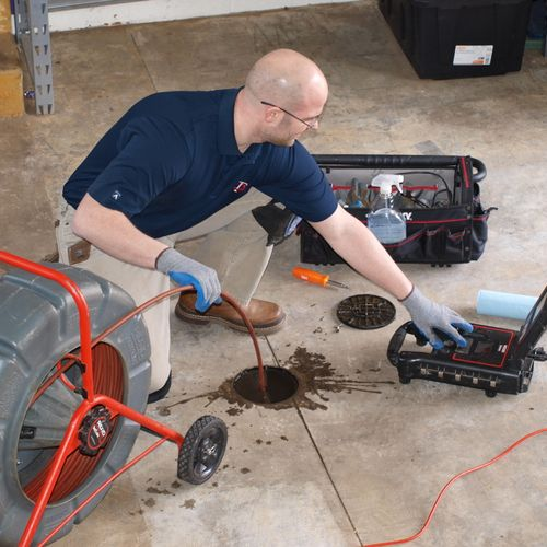 Video Inspection Of Drain Pipe