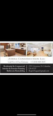 Avatar for Jonna CONSTRUCTION