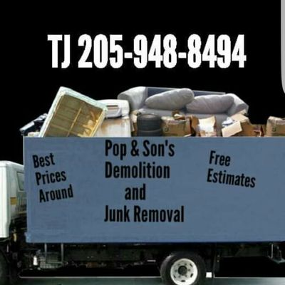 Avatar for Pop & Sons Demolition, and Junk removal. Montevallo, AL Thumbtack