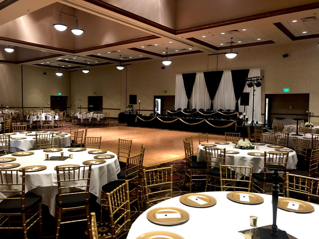 Wedding Reception Setup for 400 Guests