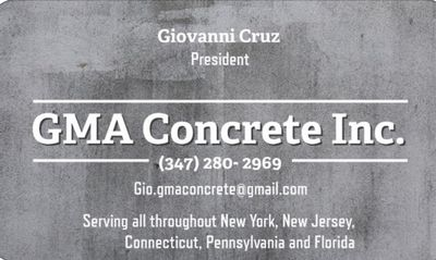 Avatar for GMA Concrete Inc Bronx, NY Thumbtack