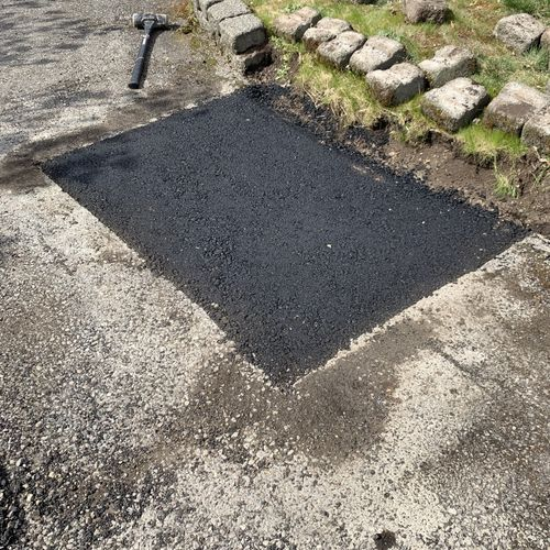 Asphalt Driveway Patch Ridesmooth
