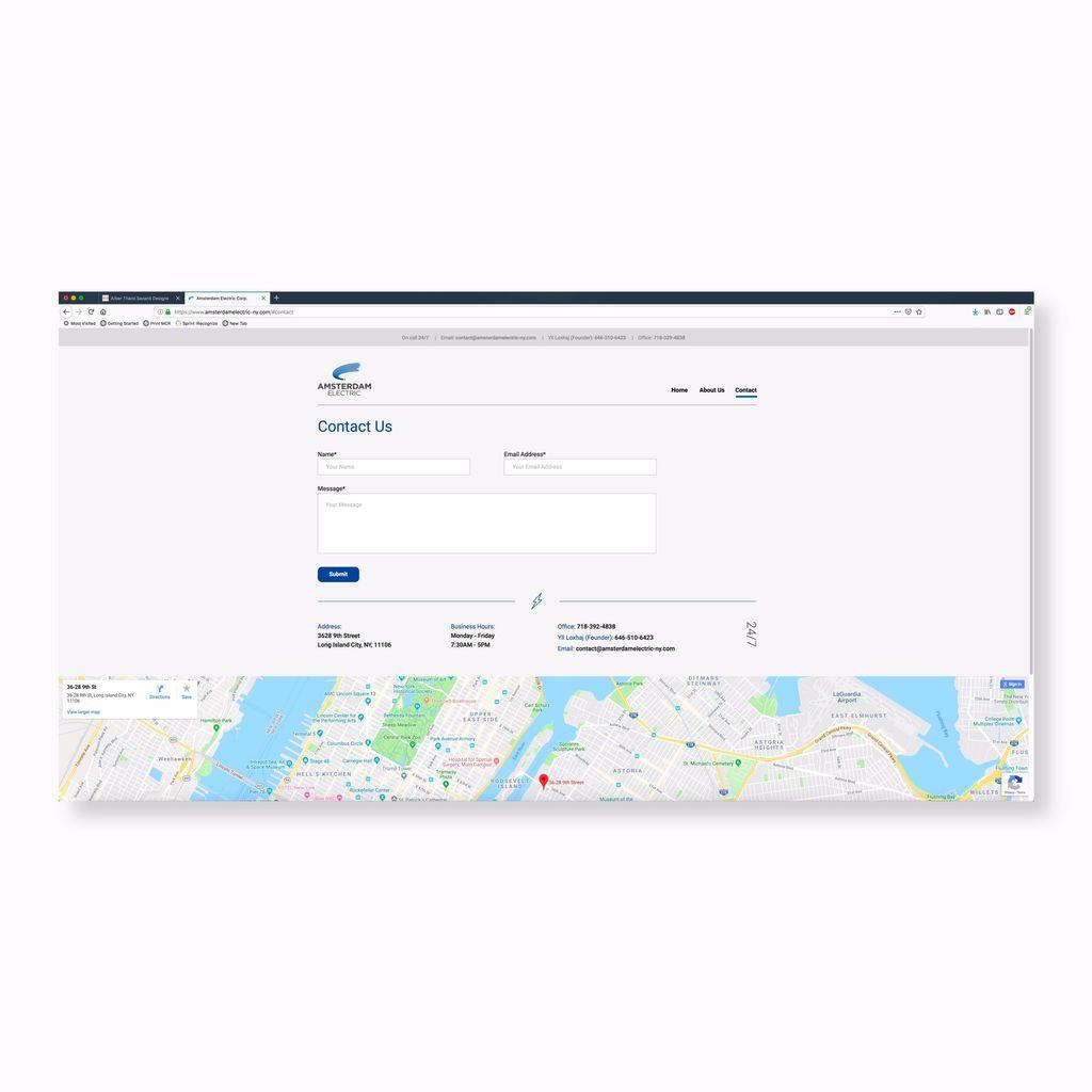 Mobile and Desktop website
