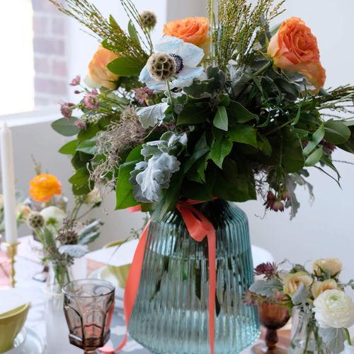 Tablescape for styled shoot