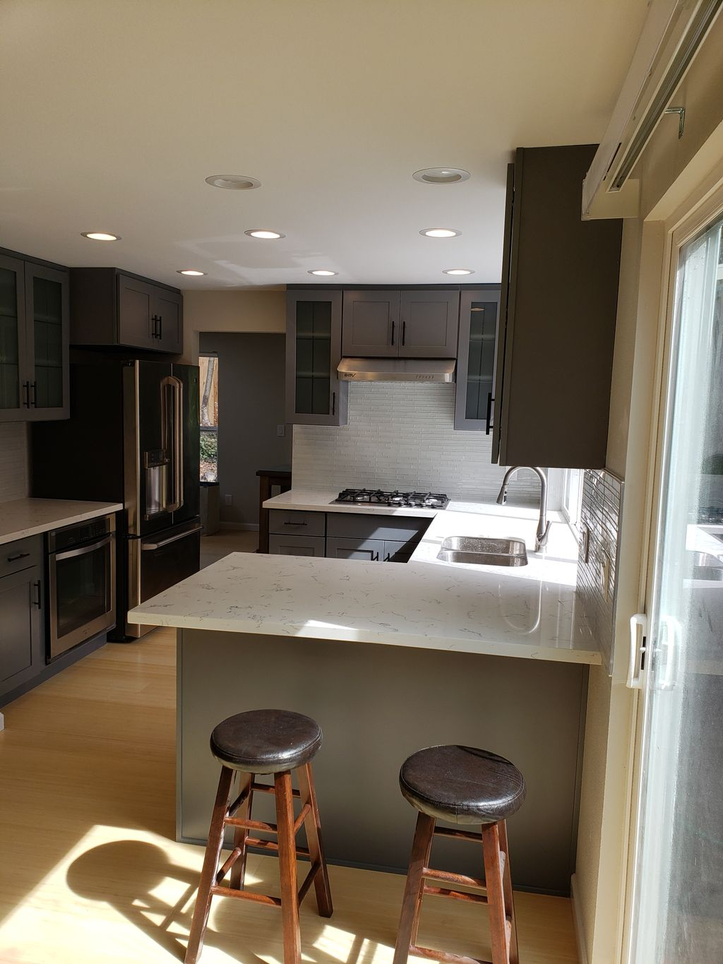 Kitchen and 2 bathrooms remodel