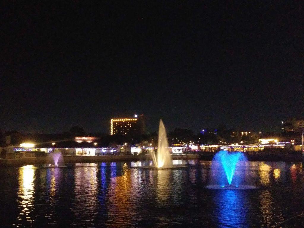 Outdoor night view
