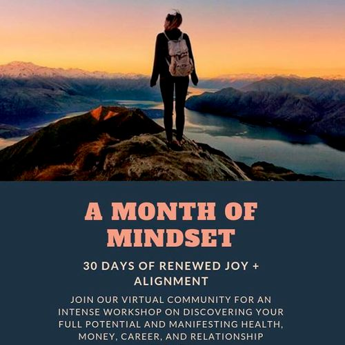 Month of Mindset group therapy