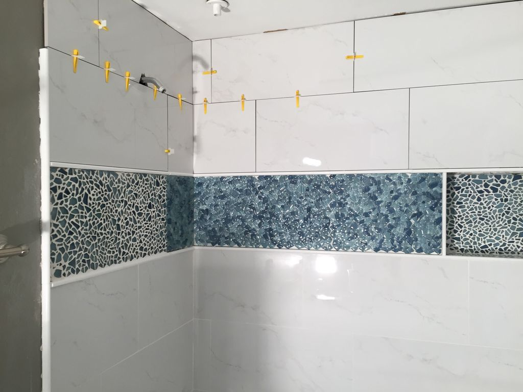 Replace tub and all tile