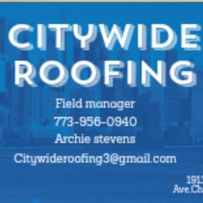 Avatar for Citywide roofing Chicago, IL Thumbtack