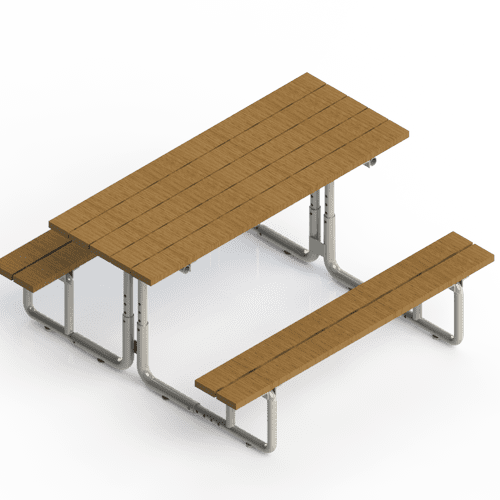 Commercial Product Development - Adjustable Picnic Table