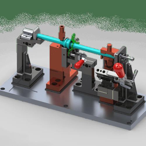 Industrial Tooling Design - Part Fixture Design